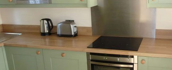 Kitchen worktop Upstands