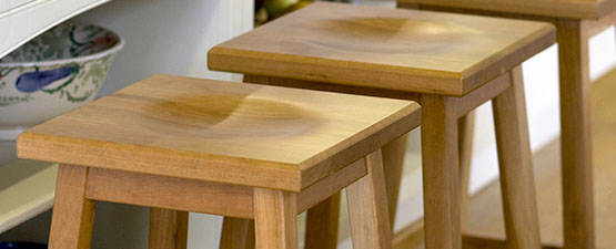 oak breakfast bar stools