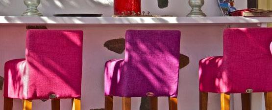 Pink Bar Stools