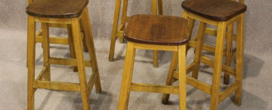 retro breakfast bar stools