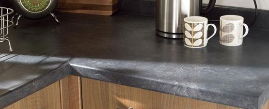 Slate Laminate Kitchen Worktops