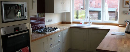 Solid Beech And Beech Block Kitchen Worktops