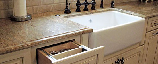 White Ceramic Kitchen Sinks
