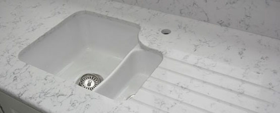 White Ceramic Undermount Kitchen Sinks