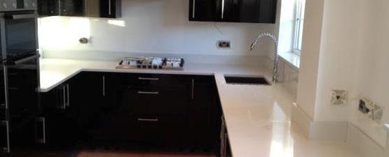 White Granite Worktops