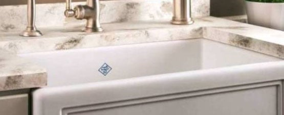 White Porcelain Kitchen Sinks