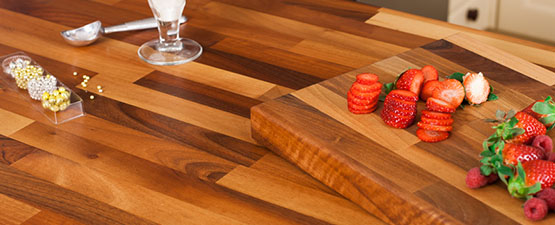 Wooden Work Surfaces